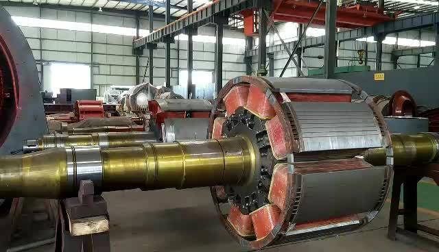 vertical Axial Flow Turbine power plant 50kw mini hydro
