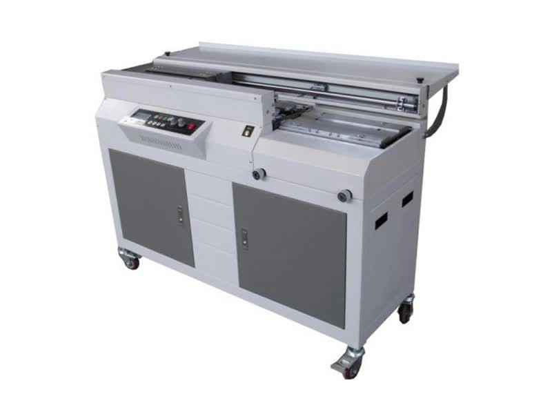 Paperback photo paper hardcover book used desktop perfect edge industrial automatic book binding machine price