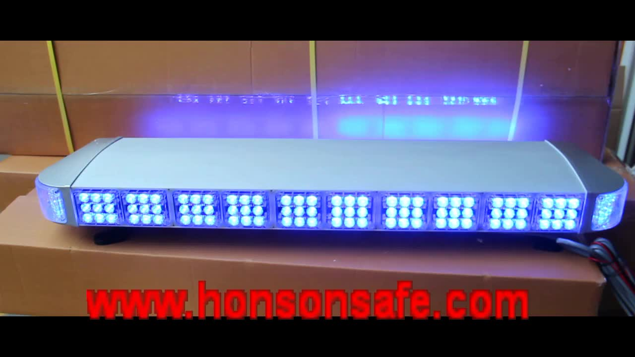 Double row led full length warning police light bar vehicle used double row led full length warning police light bar vehicle used police light bars hs mozeypictures Gallery