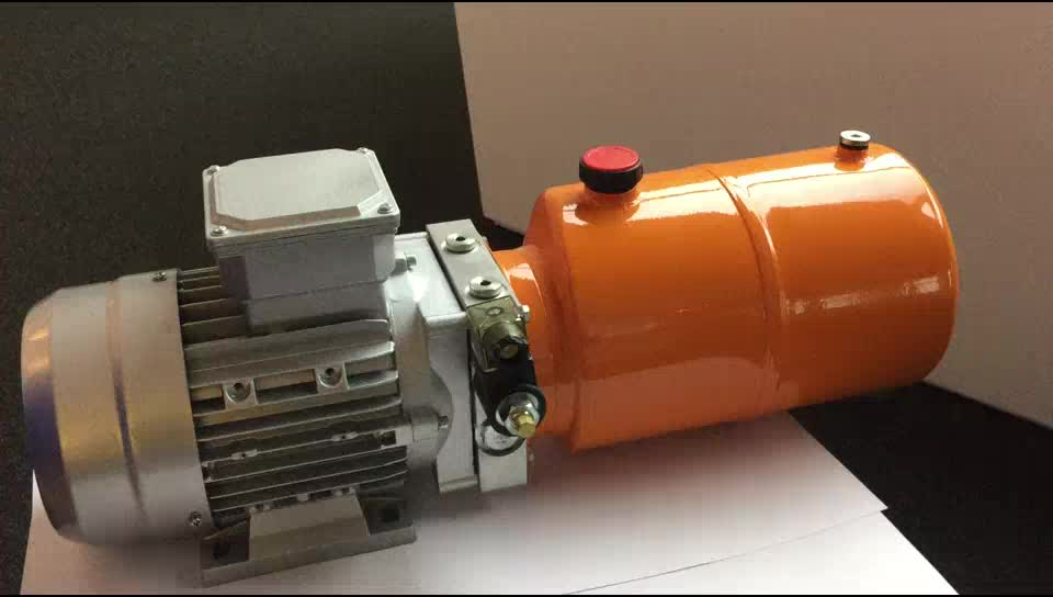 Hydraulic power unit for vehicle with hand pump buy for Hydraulic pump motor units