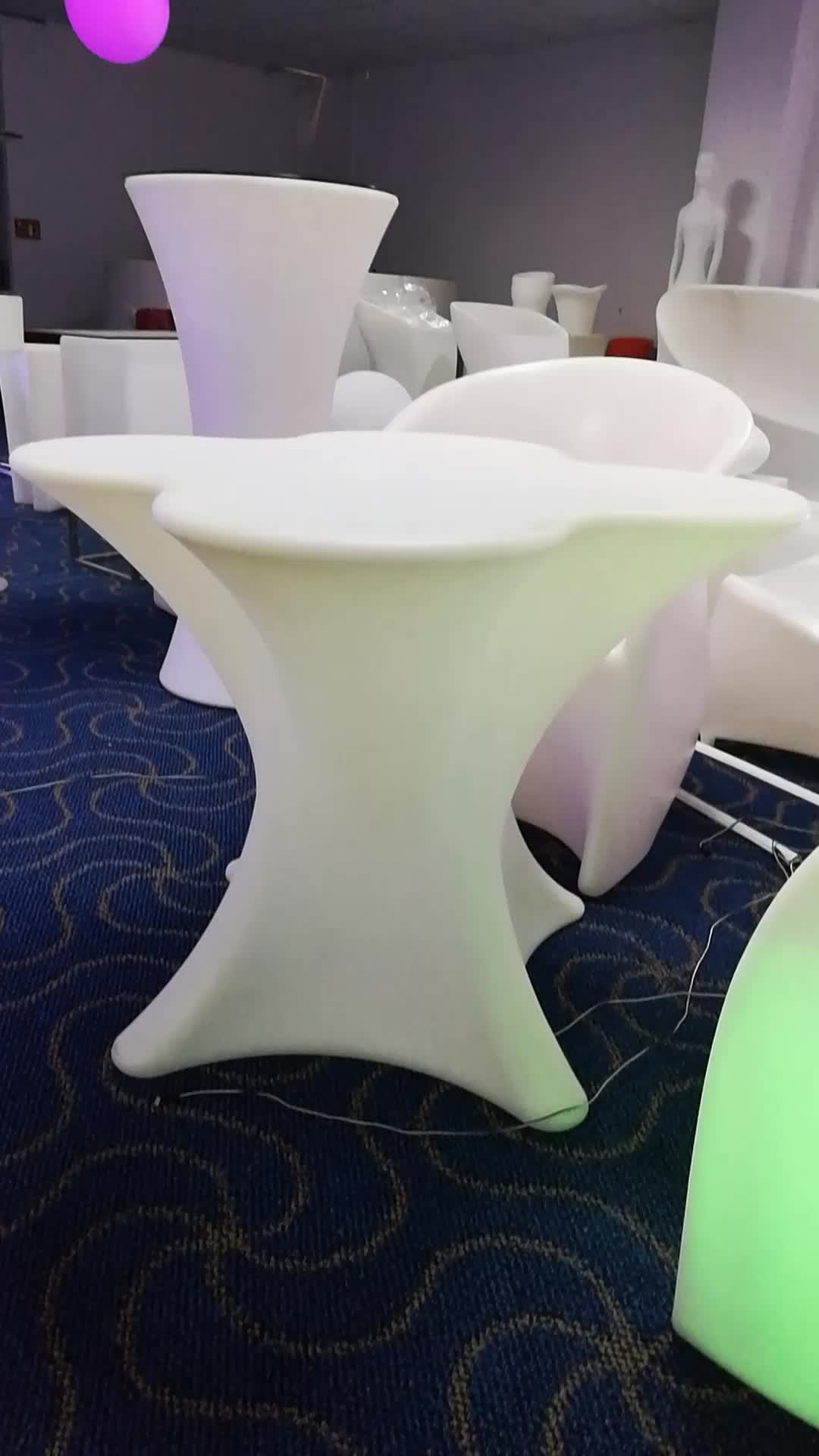 Portable LED Stool / Outdoor light up Furniture / Outdoor Waterproof LED chair