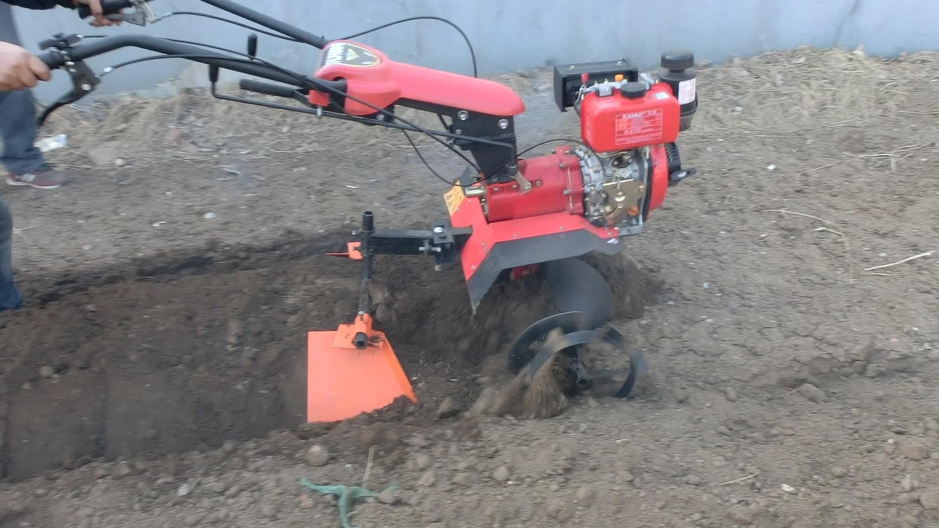 HR100 şanzıman çiftlik rotavator İtalya döner yeke