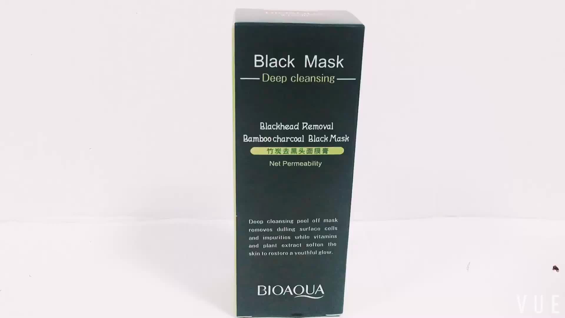 OEM bioaqua 3 étapes décoller d'acné Supprimer Nez Masque