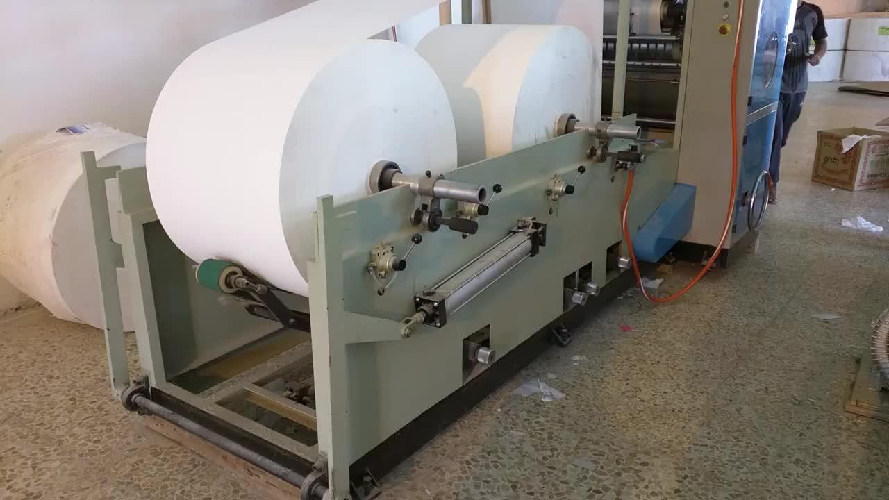 Yüz mendil kağıt ürünleri makineleri FT20A yapma