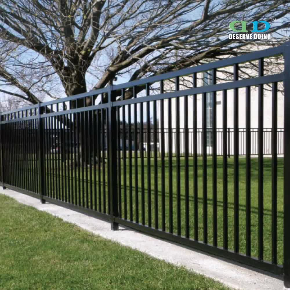 Galvanized safety steel stockade fence for sale buy