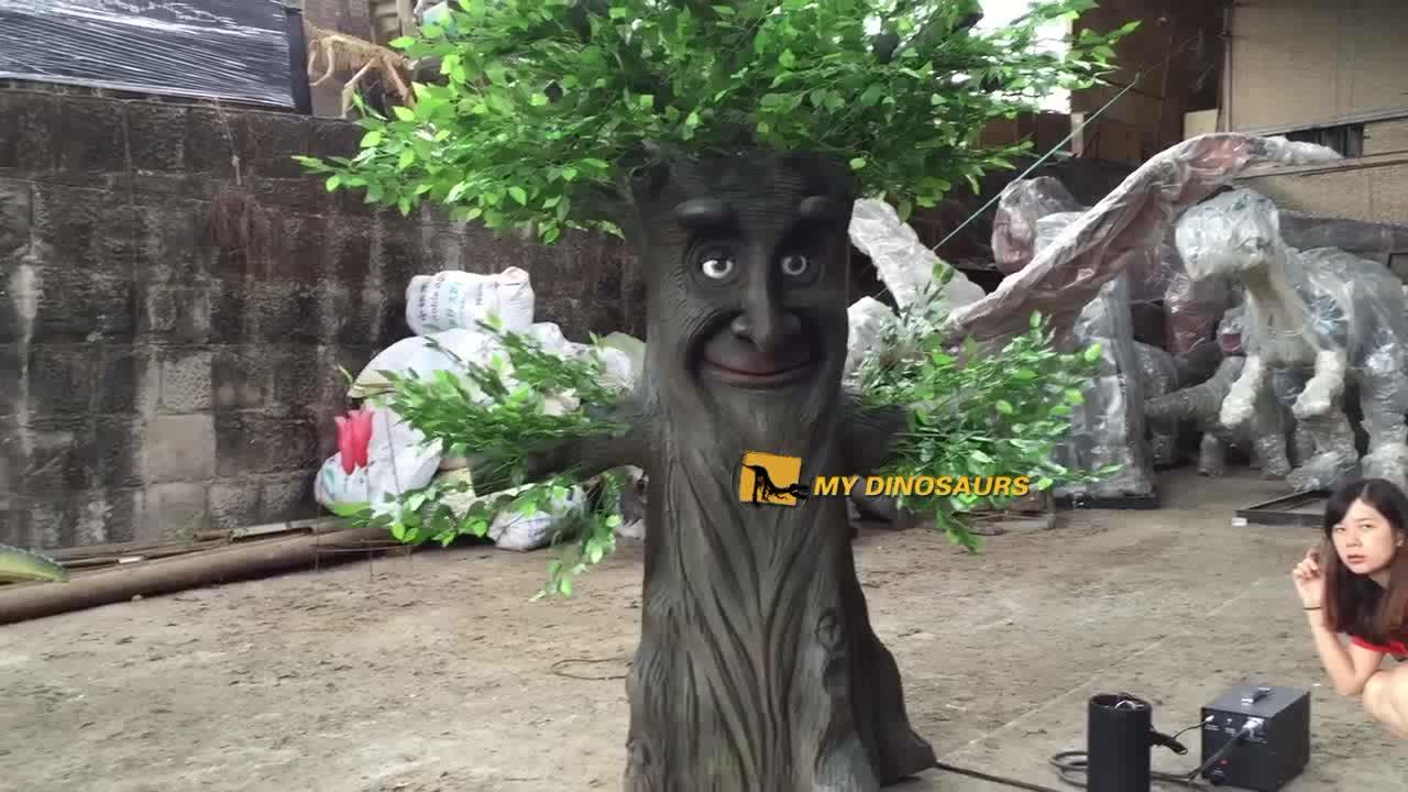 MY DINO-APJ066 Park Real Size Customized Talking Tree