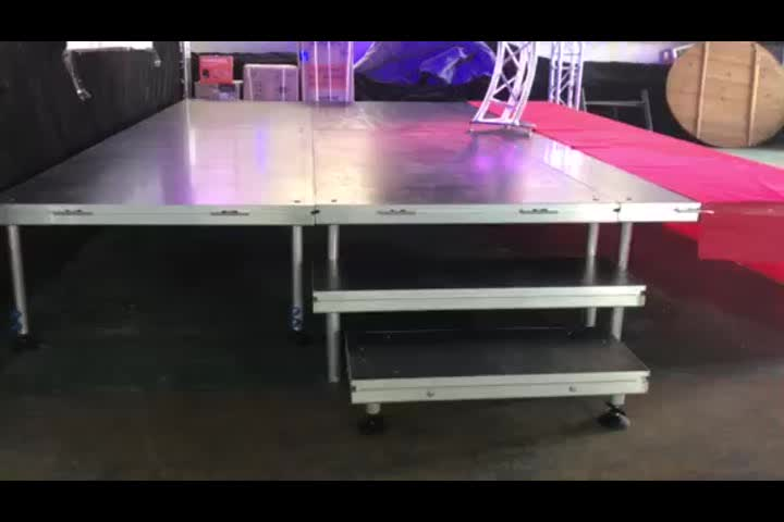 Music Pop Up Dj Stage Smart Party Dj Easy Install Stage