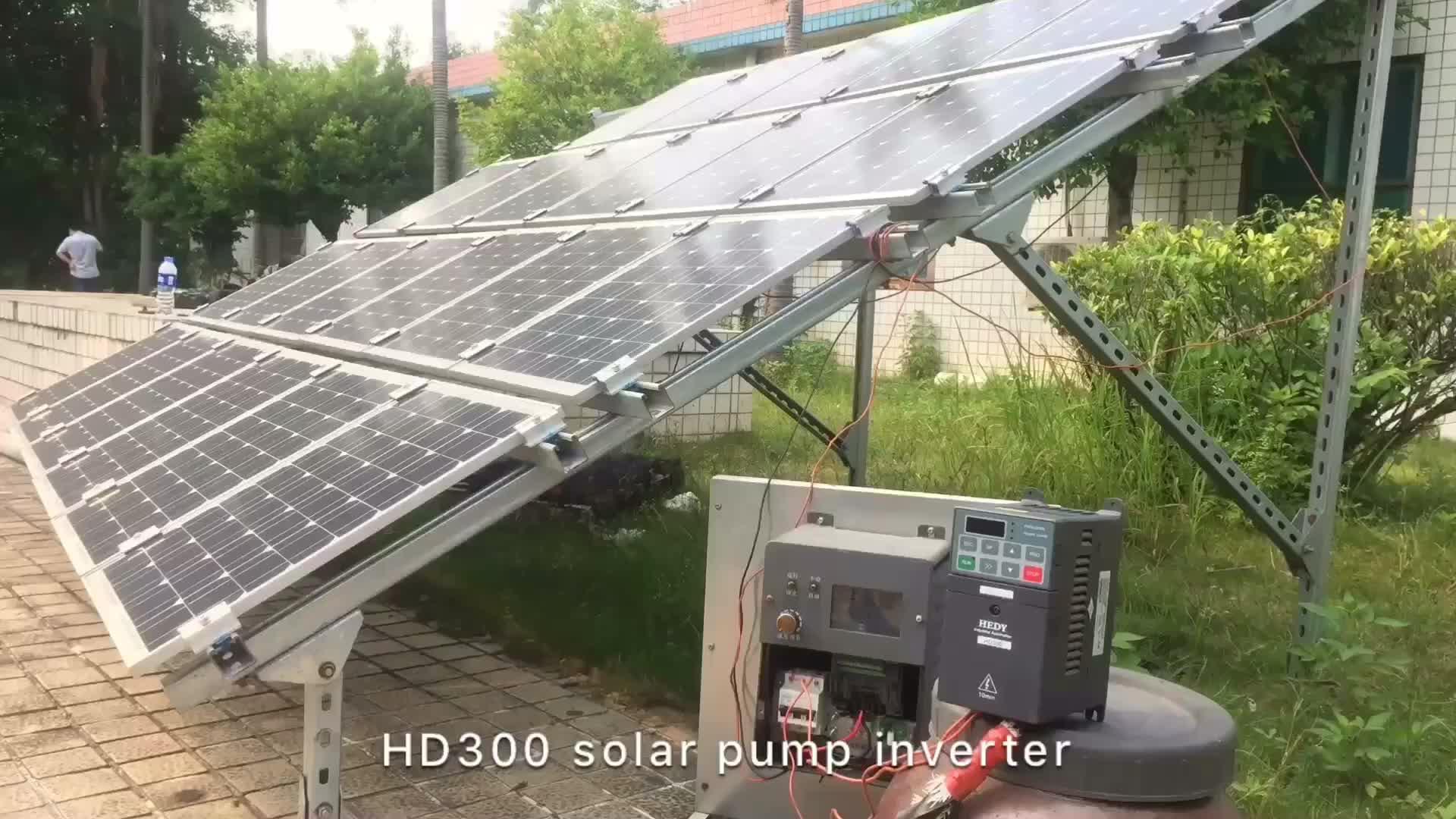 2HP 1.5KW VFD MPPT Solare Regolatore Della Pompa Acqua Solare VFD Drive Per Le Pompe