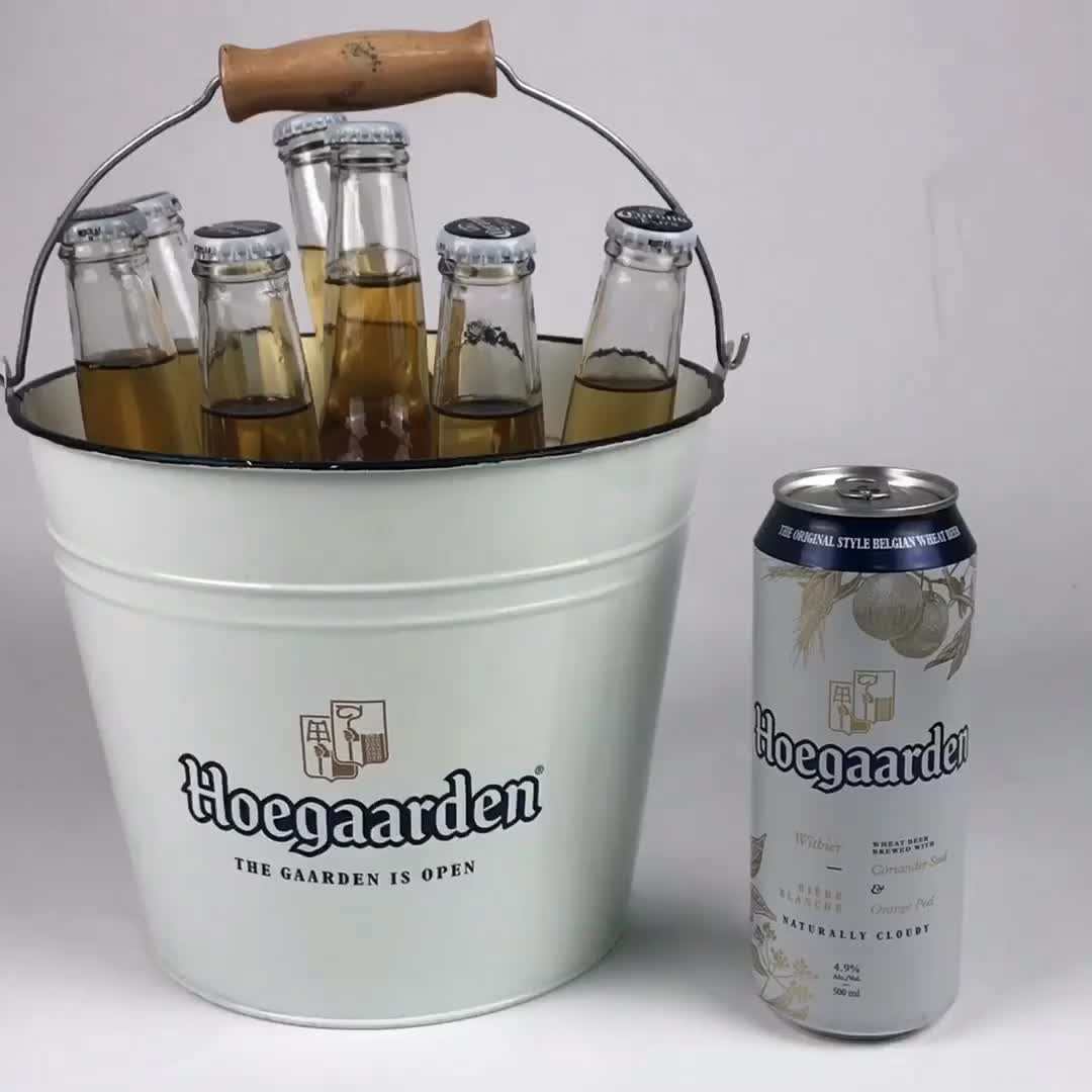 Party Events Club Bar Used Powder Coated ice bucket