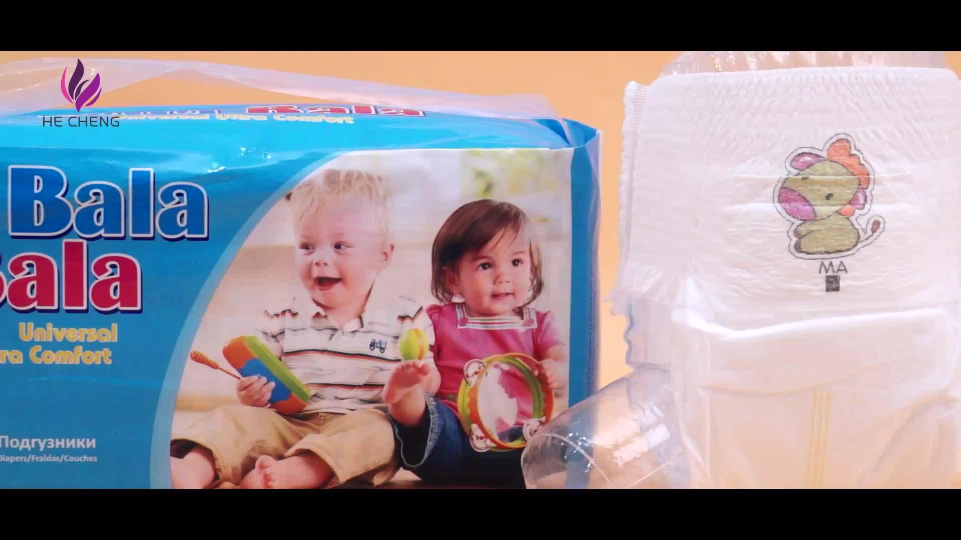 Super weiche baumwolle gedruckt atmungs neugeborenen windel
