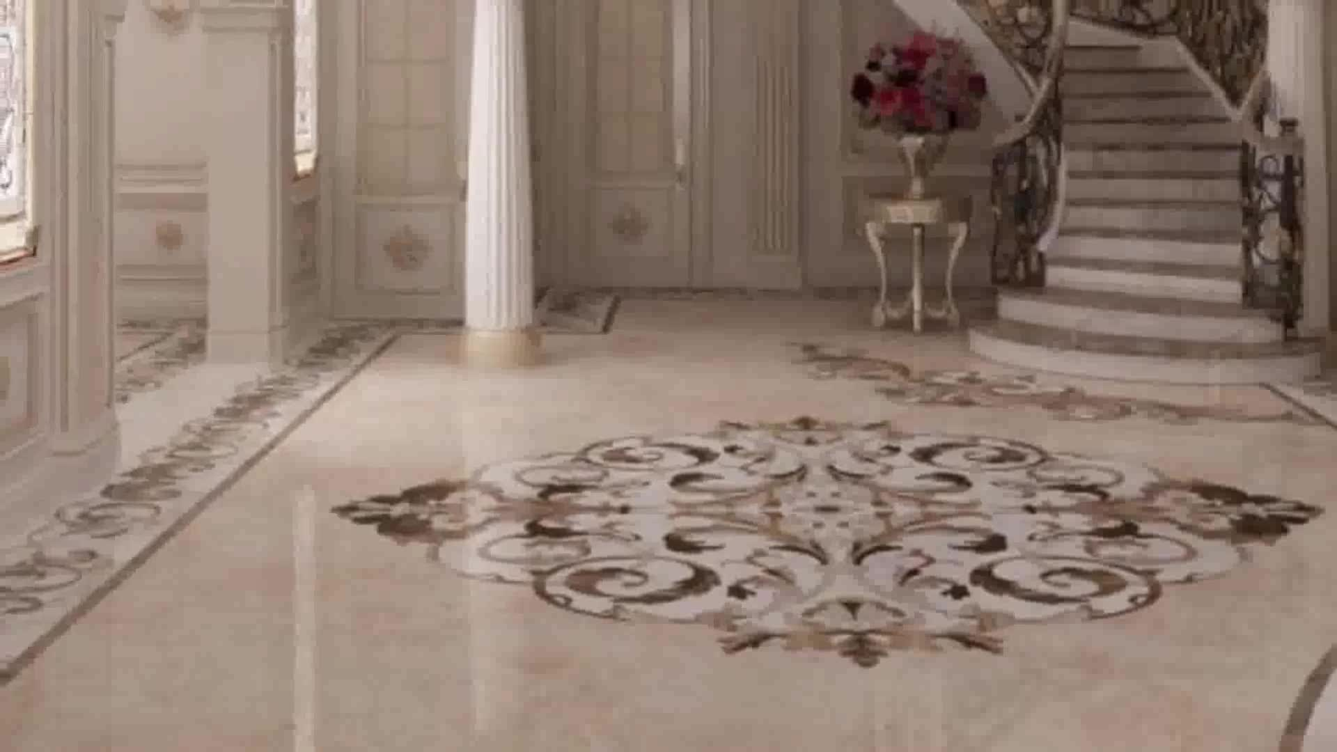Manufacturer Luxury Home Entrance Decoration Marble Inlay Flooring