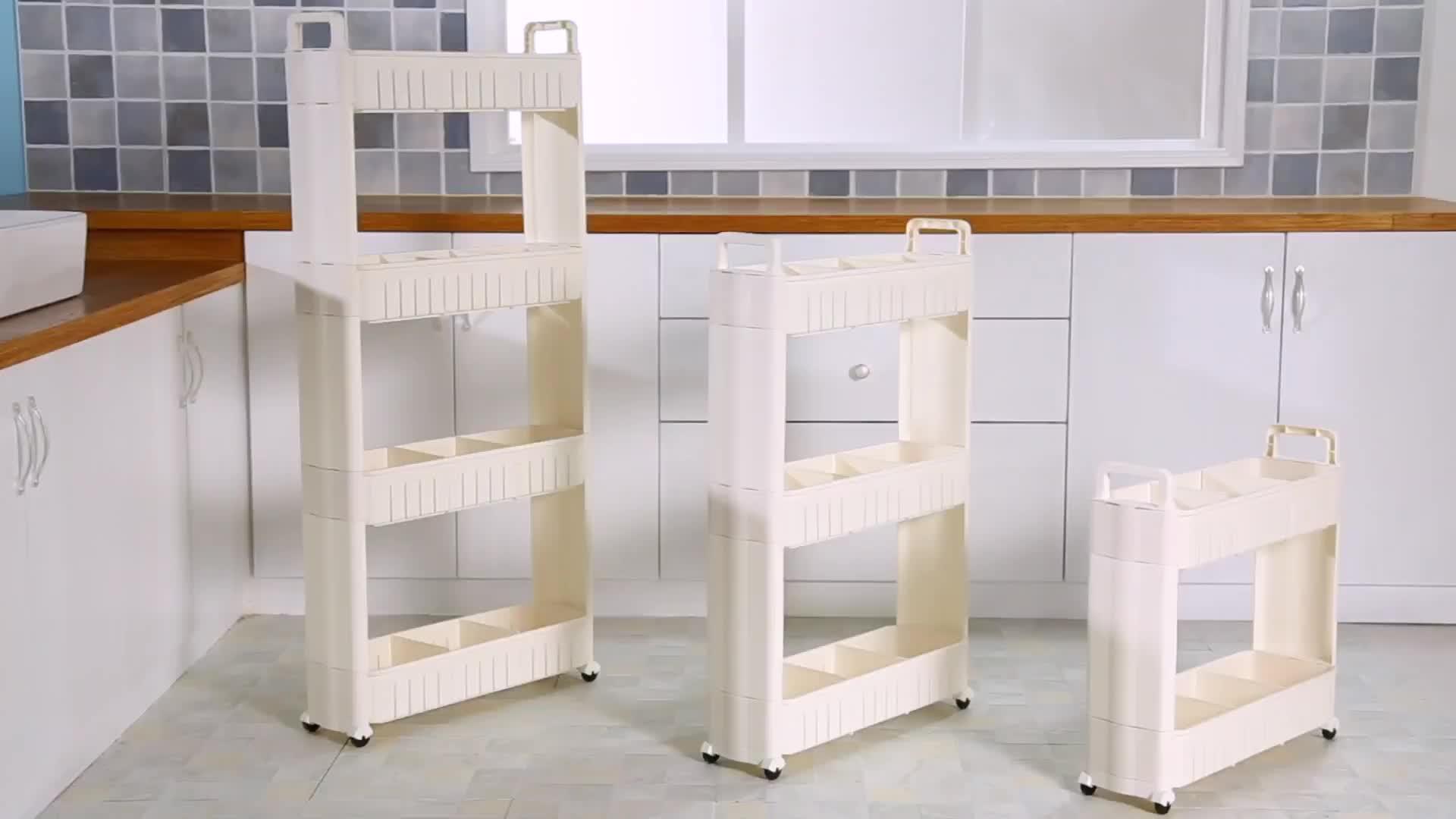 Homeware 4 layers folding bath kitchen laundry room - Organizador de lavanderia ...