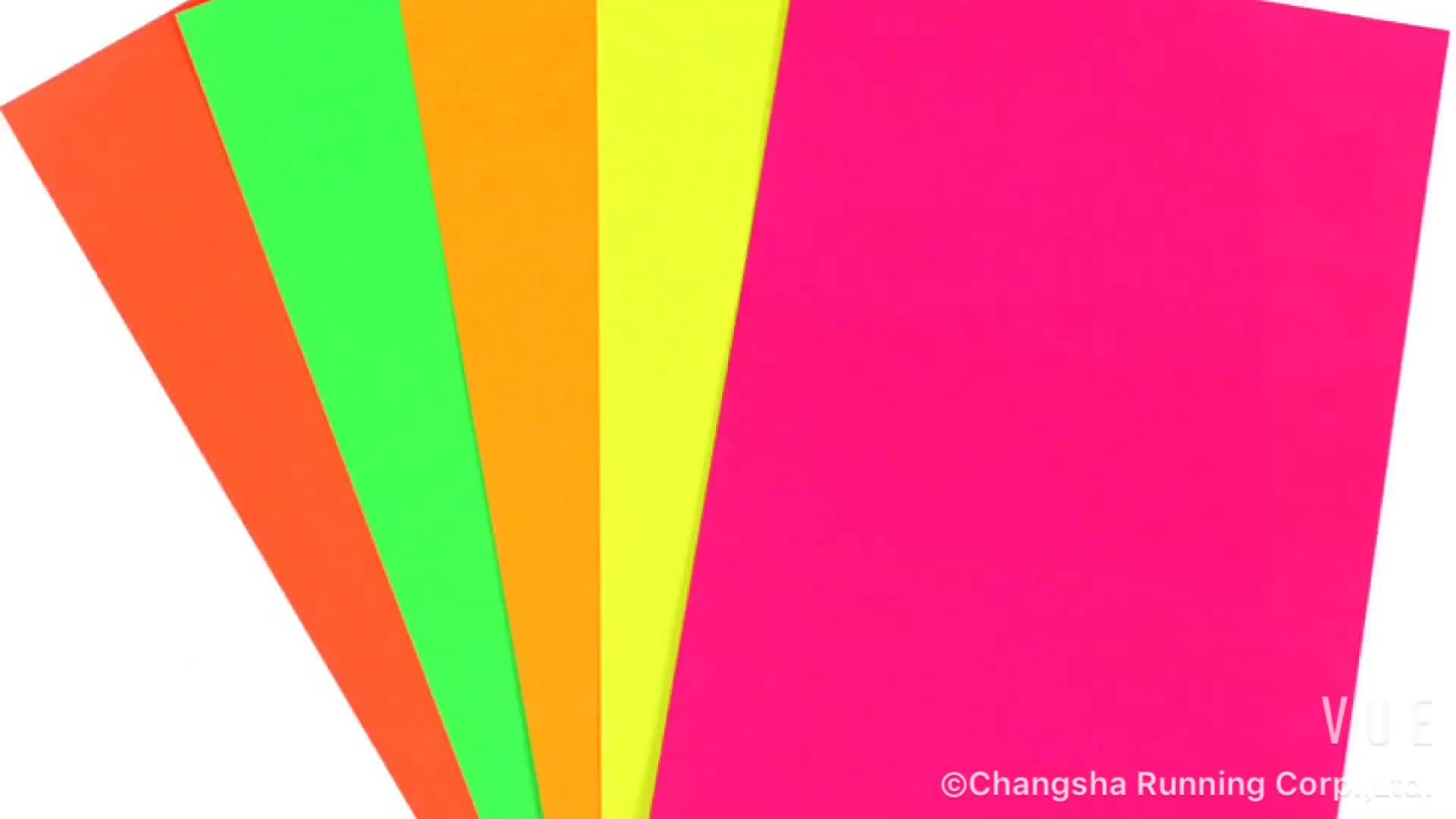 China Top Supplier Craft Paper mit unterschiedlicher Größe für DIY / Geschenkverpacker