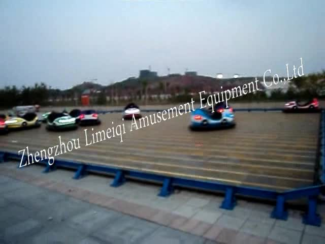 New dashing car for kids ground-net bumper cars with light floor