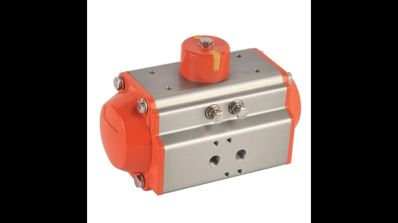 AT-100D double acting pneumatic rotary actuators