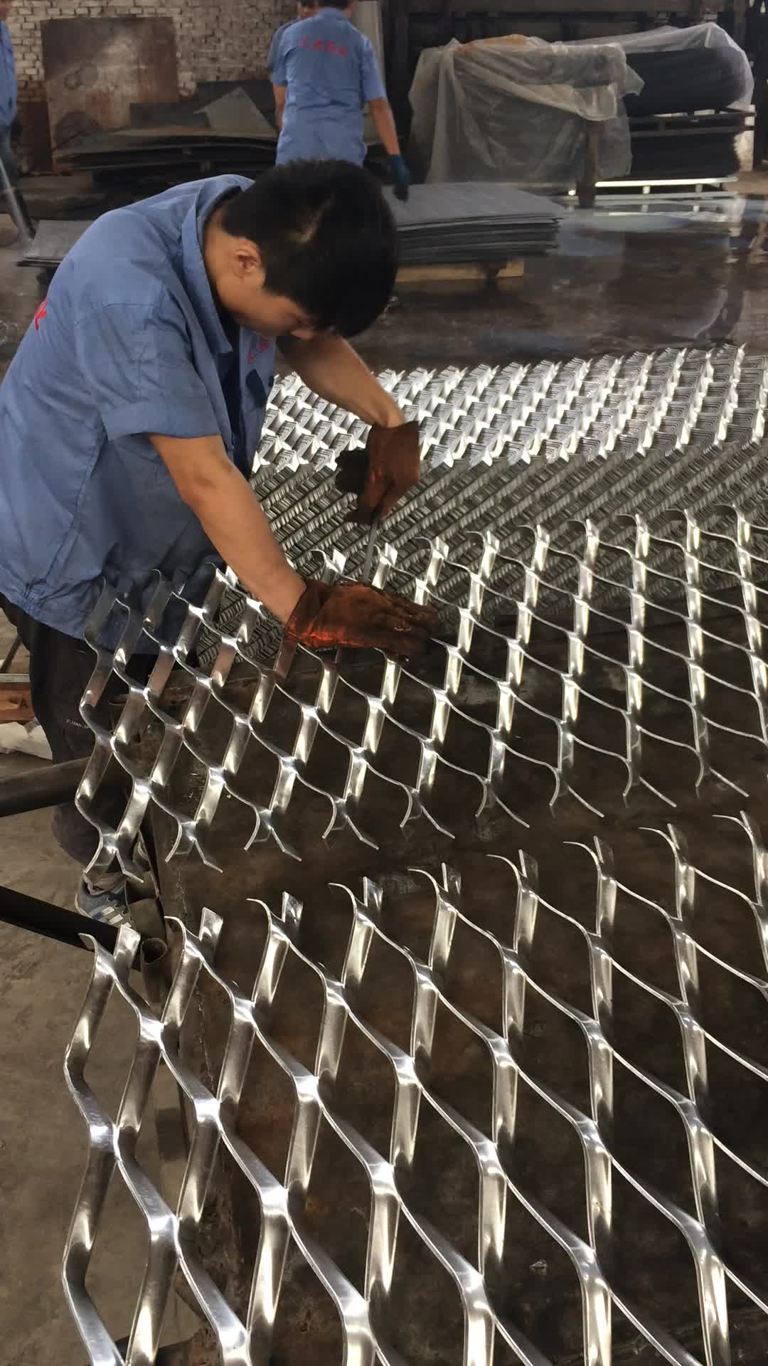 304 Stainless Steel Expandable Sheet Metal Diamond Mesh - Buy ...