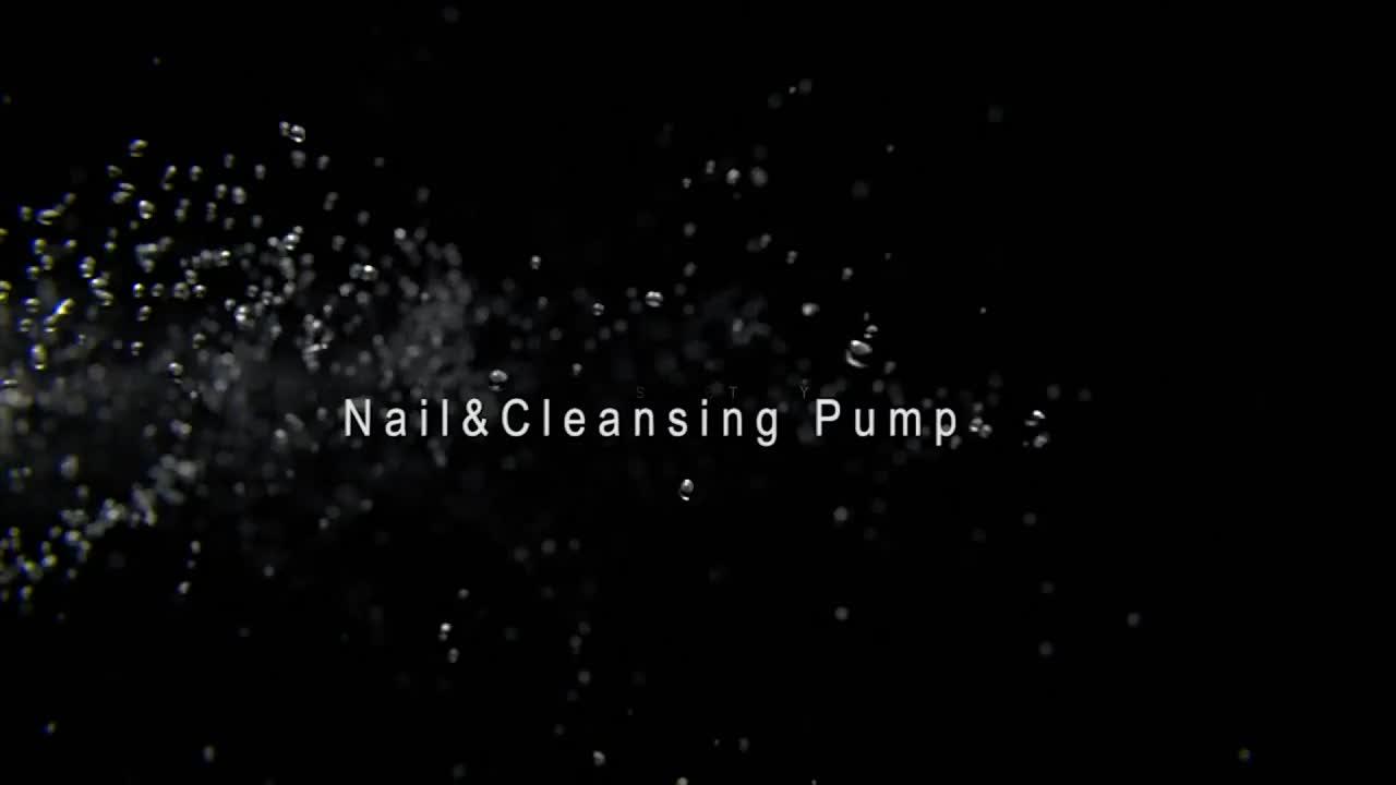 New design nail pump for nail polish remove