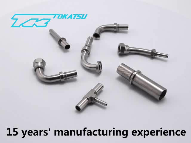 China Manufacturer Hydraulic Hose Stainless Steel Elbow Fittings