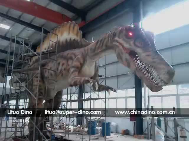 Jurassic Playground Equipment Animatronic Dinosaur