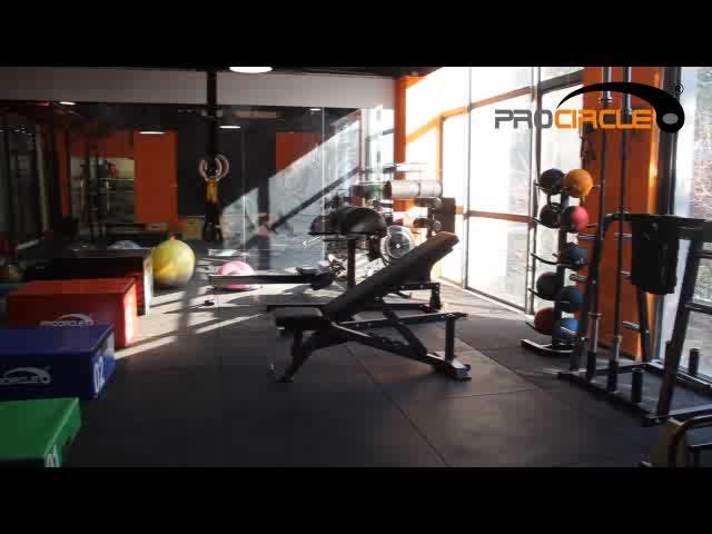 Procircle Gym Lowes Rolls Rubber Flooring