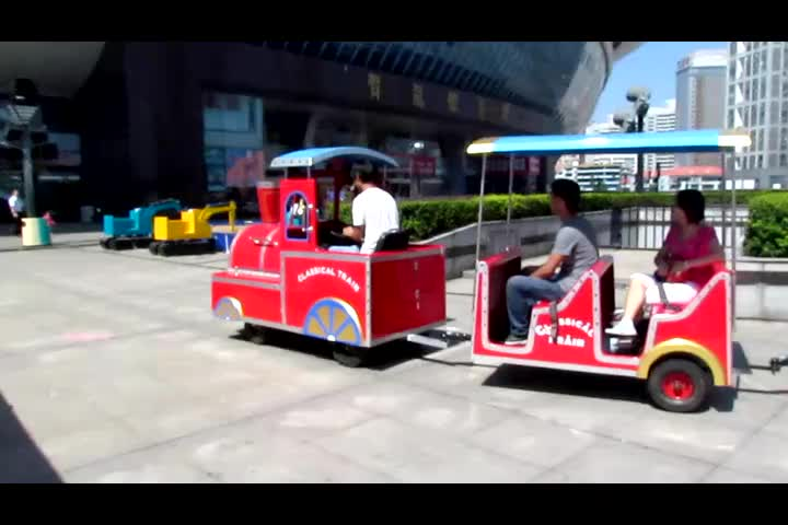 Amusement Park Medium American Electric Trackless Kids Mall Tour Train For Sale