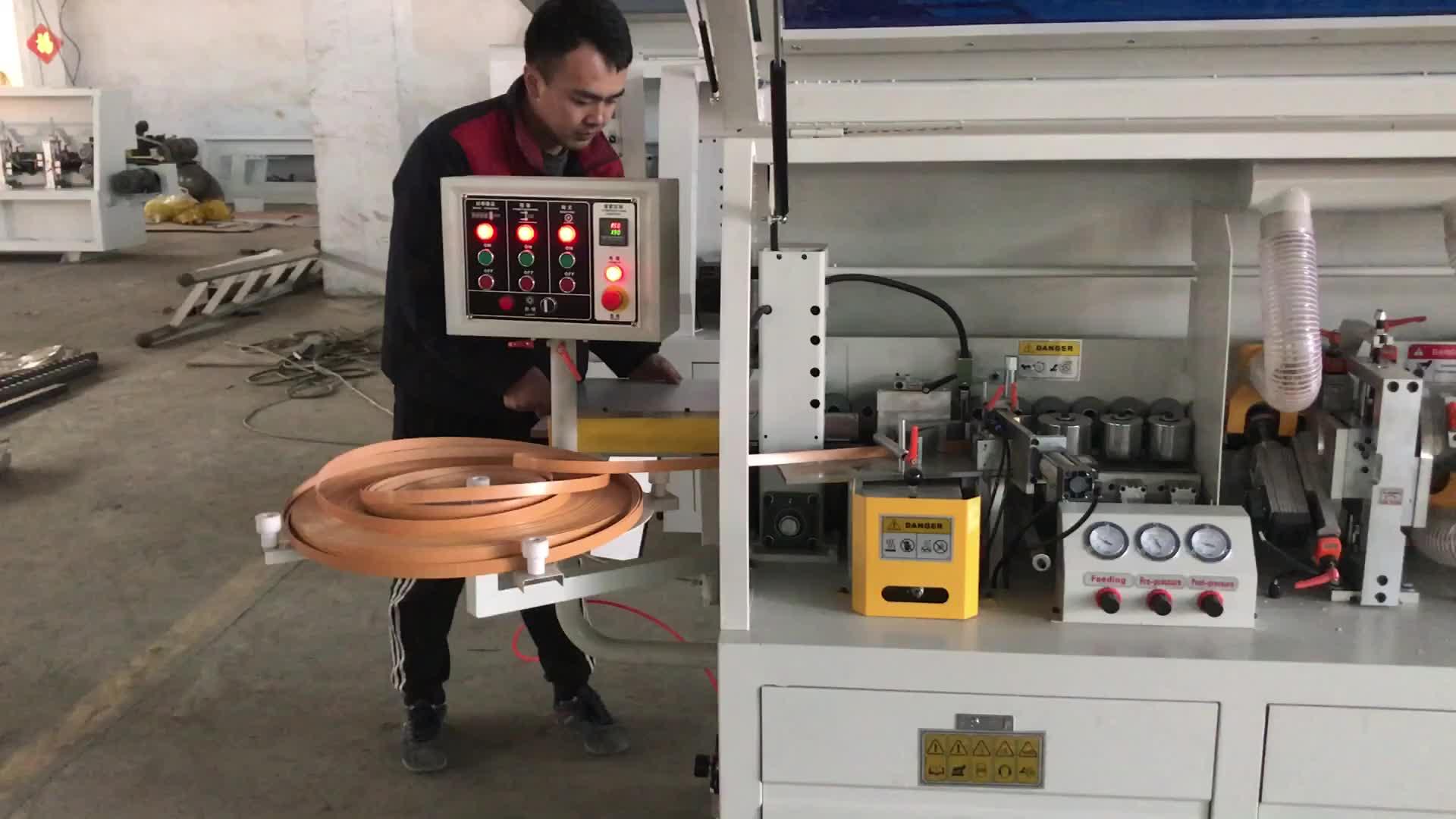 Lage Prijs Houtbewerking Machines F500C Enkele Trimmen Automatische Edgebander Edge Bander Kantenverlijmer