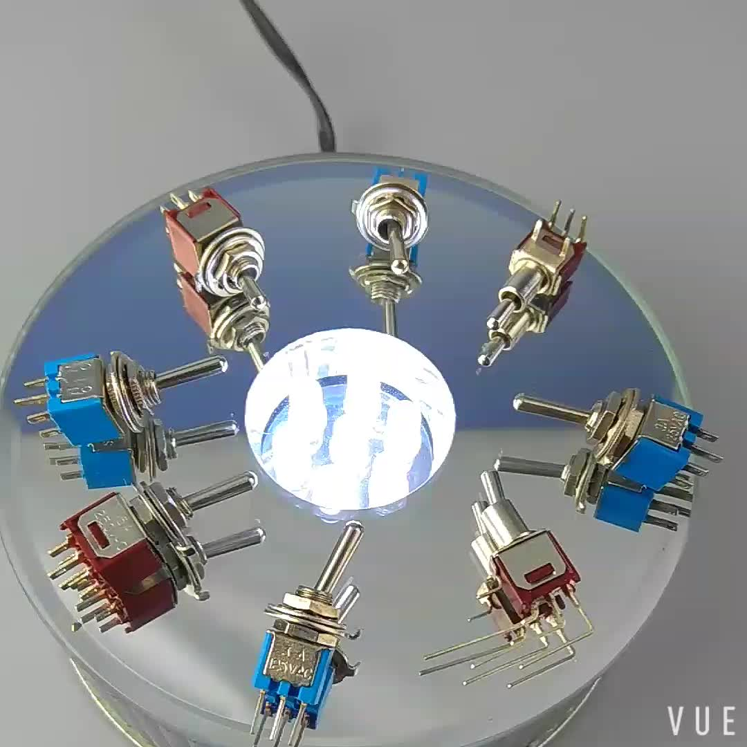 ON-ON 3A 125VAC Toggle Switch