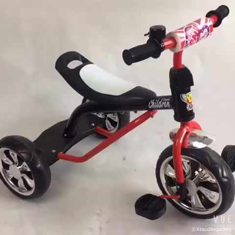 simple children tricycle for baby with big rubble 3 wheels safety kids tricycle with good quality 2017 new models