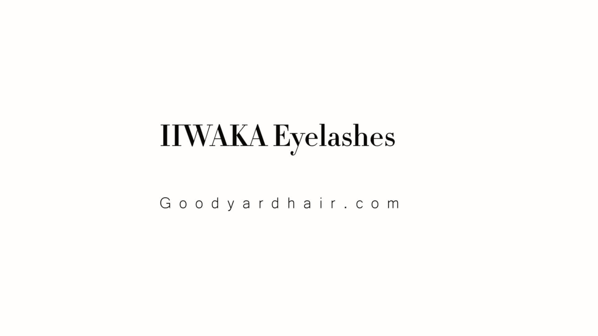 Goodyard Korea individual eyelashes, lash extension, eyelash extension silk lashes