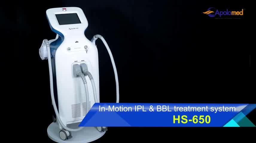 15x50 big spot size elight IPL SHR laser professional use permanent hair removal machine