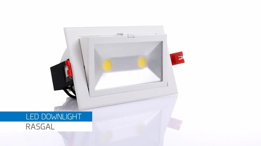 Top Quality OEM ODM Supply Adjustable Lamp Cheap 60W Square LED Downlights