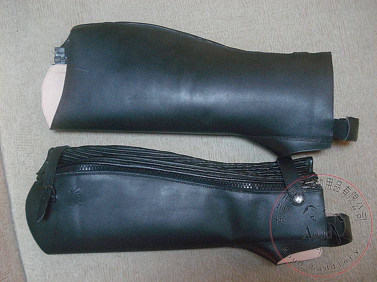 Equestrian leggings/leather equestrian leg bag professional rider leggings/leather leggings/special offers/new/