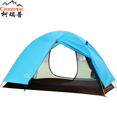 Creeper / Ke Ruipu couple outdoor camping tent against storm Double Double Pole Four Seasons Tented zp-007