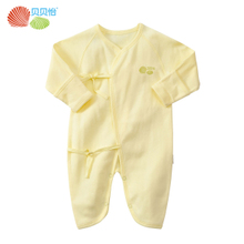 Beibei Yi spring and summer clothes newborn baby clothes climbing clothing Butterfly Romper baby coveralls Spring Summer 126