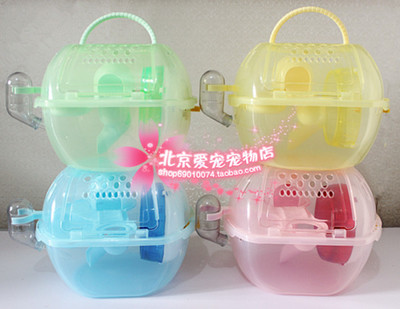Crystal Palace hamster cage Kano genuine Apple portable cage hamster cage packed supplies nationwide shipping