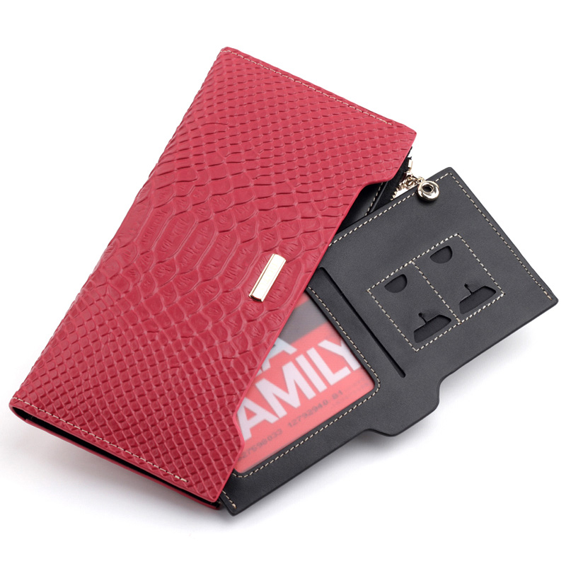 Бумажник Aotu g530l 2013 Длинный бумажник Девушки Кожа быка