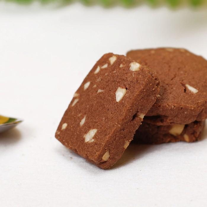现做手工曲奇饼干 巧克力曲奇饼干 花生可可饼干 办公室健康食品