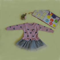 童装女童连衣裙长袖秋冬装3-5-7岁宝宝毛衣纱裙女孩儿童公主裙