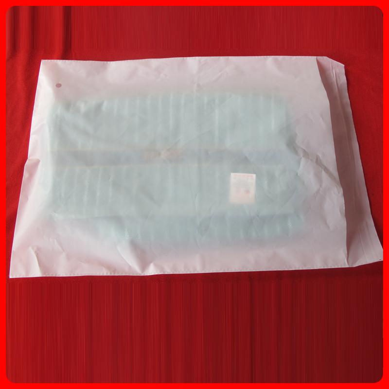 Самоклеющиеся пакеты NET обещание бренда мешки 30 * 40 + 4 Млечный толщиной 11 провод самоуправления клей сумки одежда сумки пластиковые 100