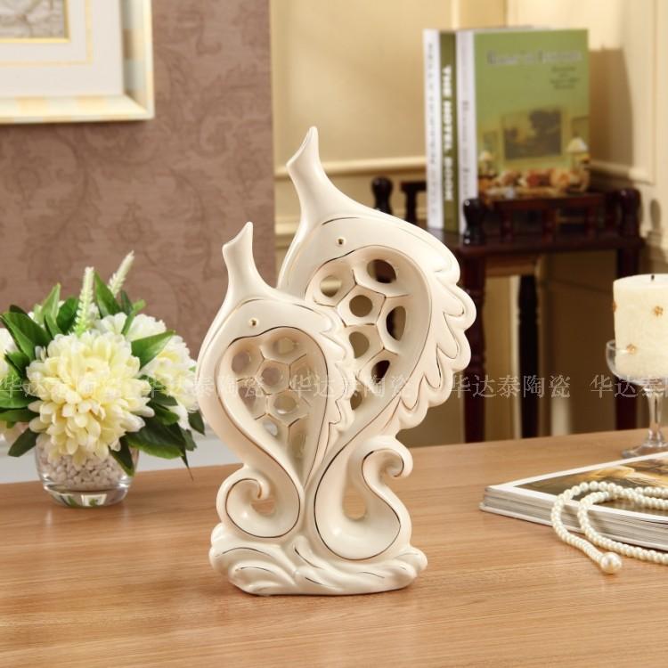高品质时尚 家居装饰品居家饰品工艺品白色 宜家可爱礼品创意简约
