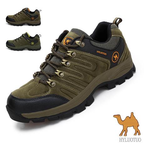 新款正品骆驼户外登山鞋运动休闲鞋男鞋旅游鞋防滑耐磨厚底防臭