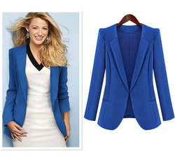 Celebrity Fashion slim small suit jacket