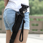 Special Purse Bag For SLR Camera Monopod Alpenstock Tripod Portable Small Pockets Support Package