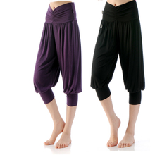 Body rhyme new adult square dance dance pants pants modal 7 minutes of pants sell TY 836