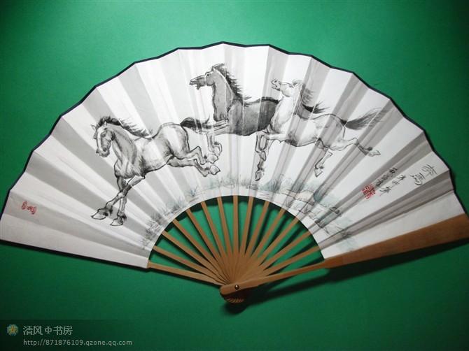 Декоративный веер Чисто ручная роспись пейзажной живописи, бумага Вентилятор Вентилятор Вентилятор Вентилятор может предоставить для повседневного использования в подарок