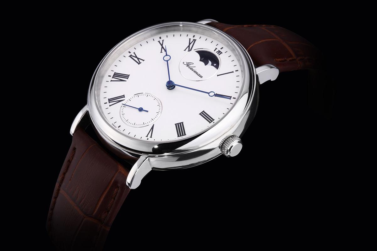 Часы Ge Leiman 0906 Механические Мужские Швейцария 2013