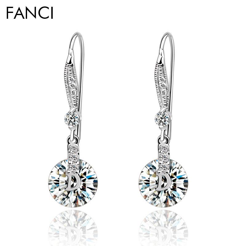 [流光] FANCI正品 韩国时尚耳环 流苏女士耳坠长款韩版 长耳环