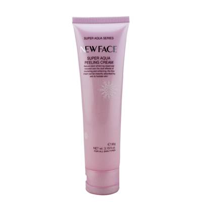 Faces snow Yan moist exfoliating scrub cream 90g genuine counter
