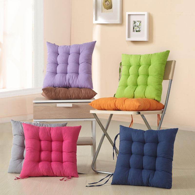 加厚坐垫子椅垫办公室坐垫冬季保暖坐垫餐椅垫毛绒坐垫