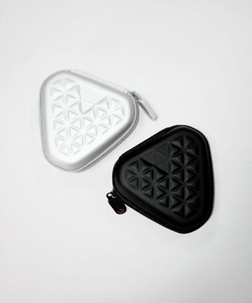 便攜式三角形 防壓 蘋果 三星 耳機 數據線 MP3 4收納盒 收納包